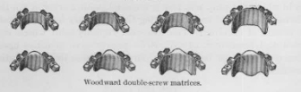 Woodward double-screw matrices